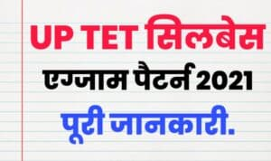 up tet syllabus in hindi